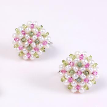 Lattice Pattern Earrings