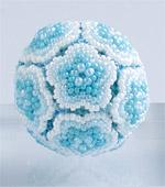 Beaded Flower Balls - 1 : Aqua