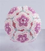 Beaded Flower Balls - 1 : Pink