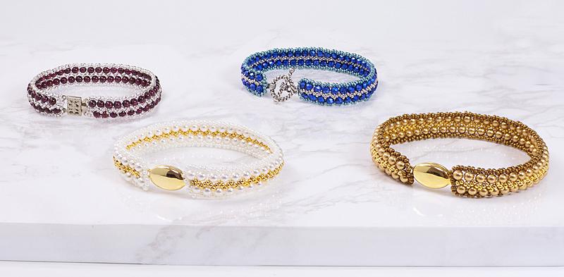 Zigzag Pattern Bracelets