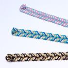編み込み模様のビーズのブレスレット