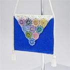 Colorful Pendant Beaded Bag