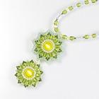 春咲く花のネックレス