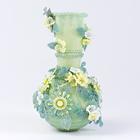 黄色の小花のビーズの飾り瓶