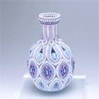 Marquise Pattern Purple Vase