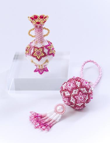 Star Ball Ornament Charm