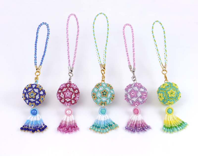 5 colors of Star Ball Ornaments