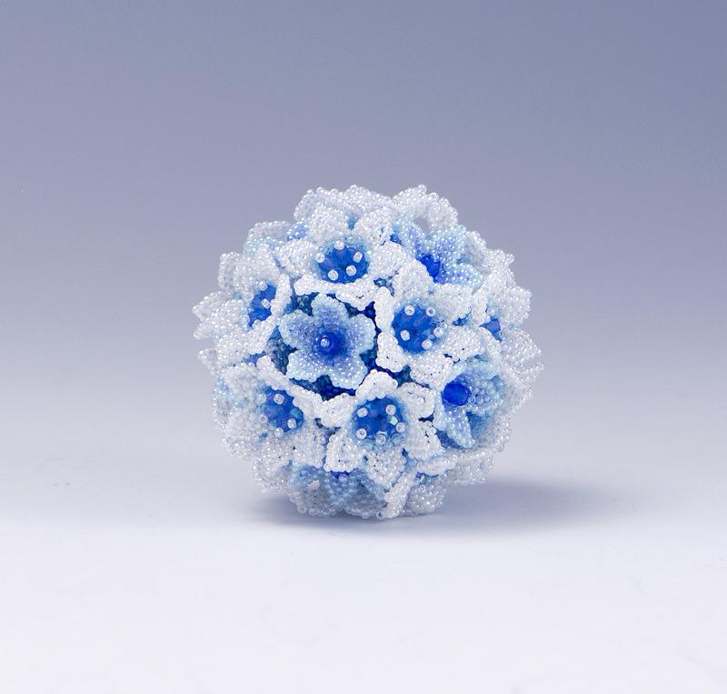 ブルー系のボール