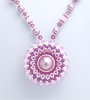 Circular Flowery Necklace