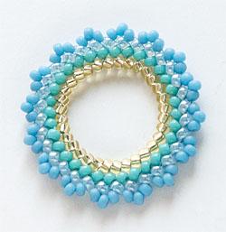 Circular Type of Plaited Herringbone Stitch