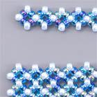 ダイヤモンドチェインの編み目画像