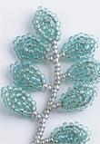 コサージュの小さい葉の枝