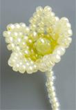 コサージュの小さい花
